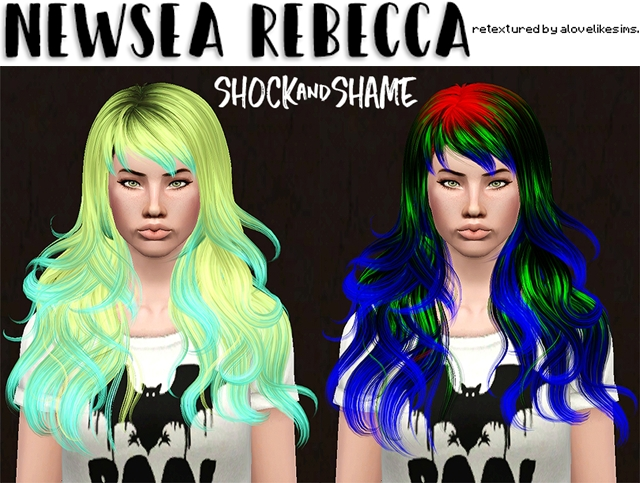 Newsea Rebecca Retextured by Alovelikesims