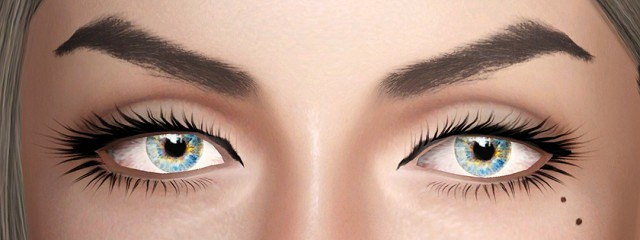 Audreys brows by ulito4ka