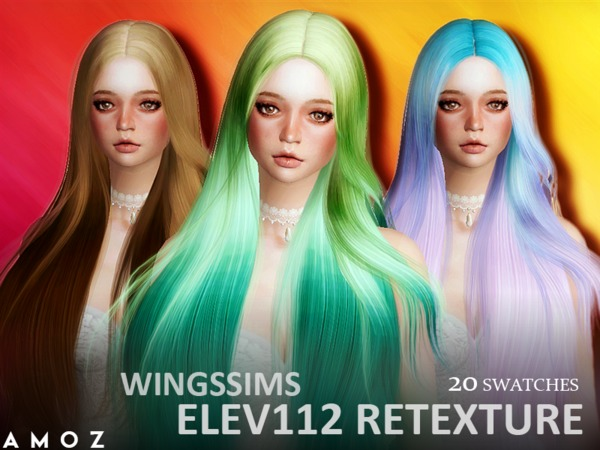 Amoz [WINGS ELEV112] Retexture - Mesh Needed
