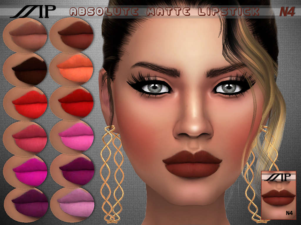 MP Absolute Matte Lipstick by MartyP