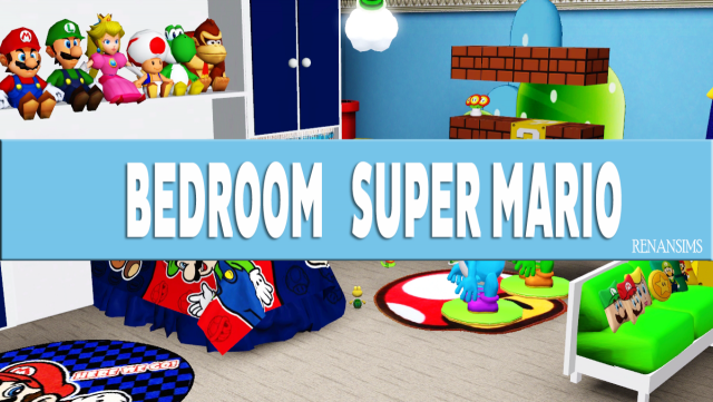 Super Marios room by Renansims