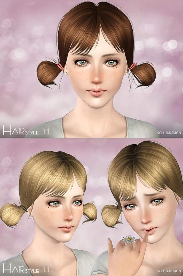 TS3 Hair N11 by S-Club