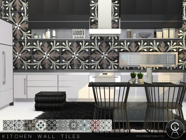 Kitchen Wall Tiles by Pralinesims