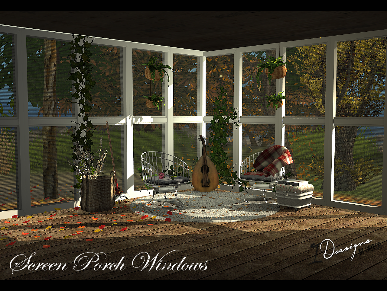 Screen Porch Windows - New Mesh by Daer0n