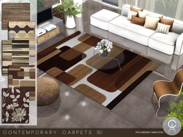 Contemporary Carpets 30 by Pralinesims