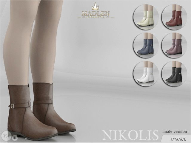 Nikolis Boots (MALE) by MJ95