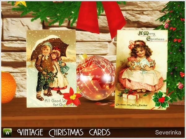 Vintage Christmas Cards by Severinka