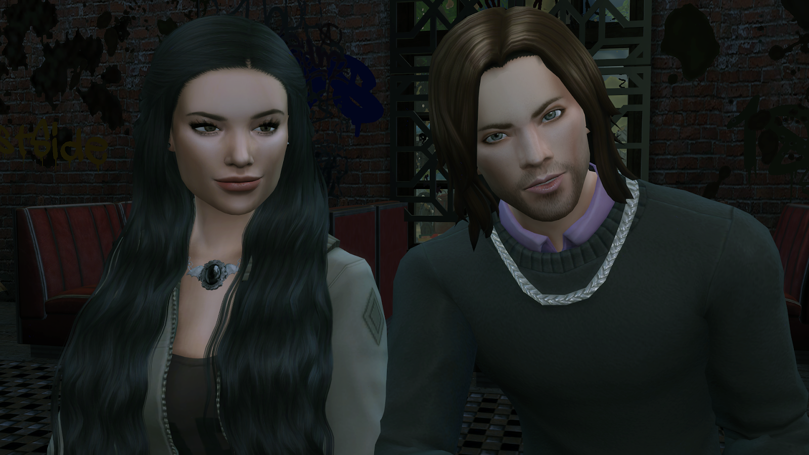 Supernatural sims models by Melissa