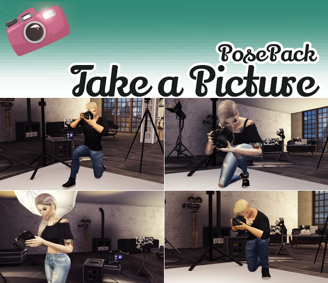 POSE PACK by VictorrMiguell & JuhhB