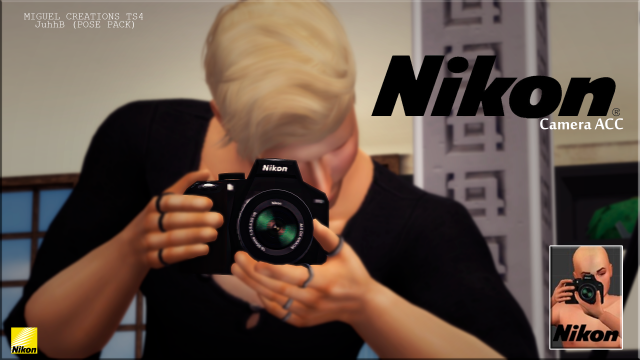 Camera Nikon - ACC by VictorrMiguell & JuhhB