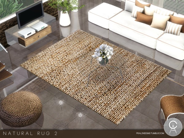 Natural Rug 2 by Pralinesims