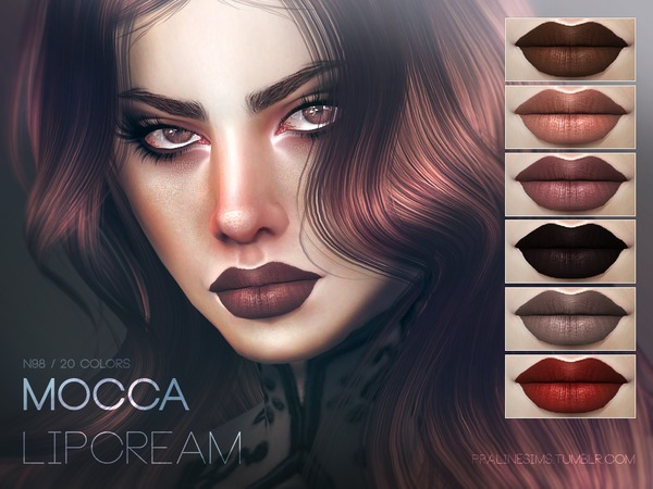 Mocca Lipstain N98 by Pralinesims