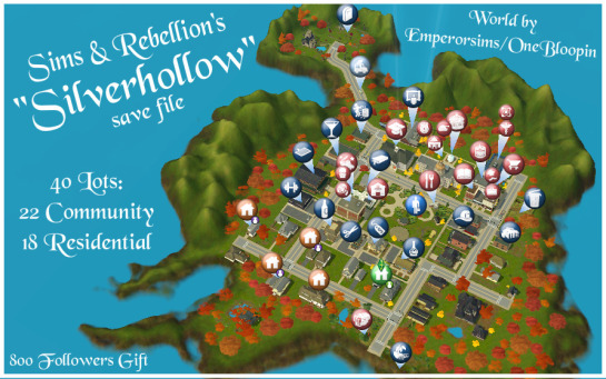 Silverhollow от sims-and-rebellion