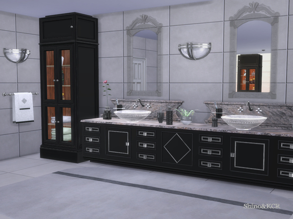 Bathroom CliveC Contemporary by ShinoKCR