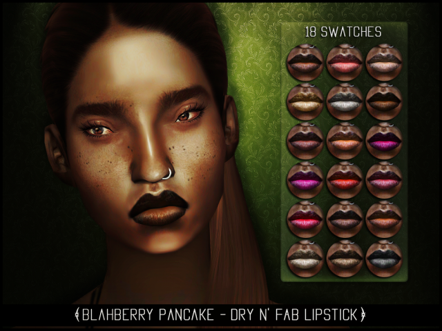 Dry n' Fab Lipstick by Blahberry Pancake