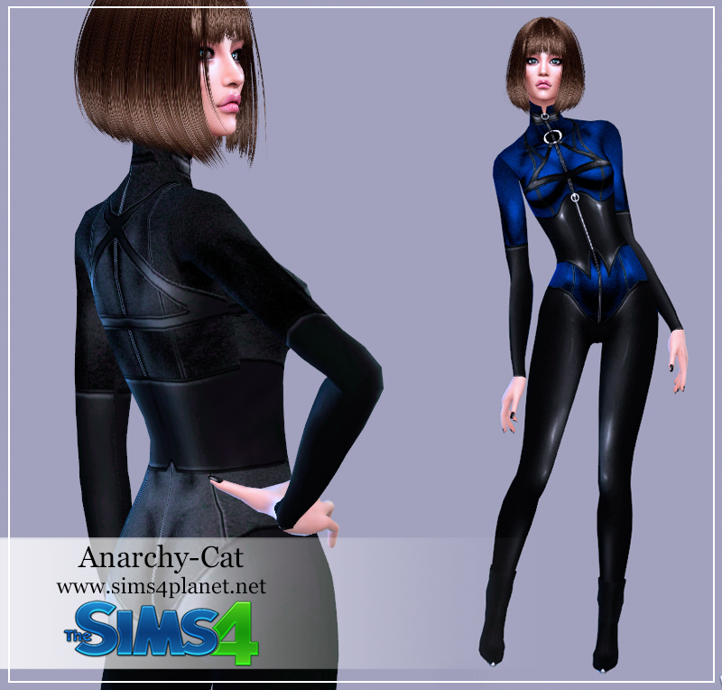 Superhero costume #1 by Anarchy-Cat