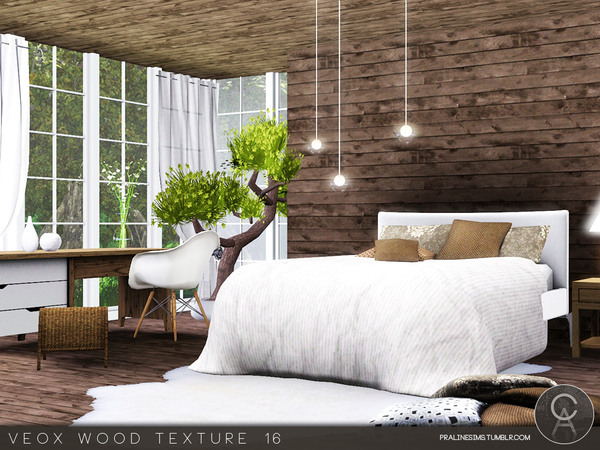 VEOX Wood Texture 16 by Pralinesims