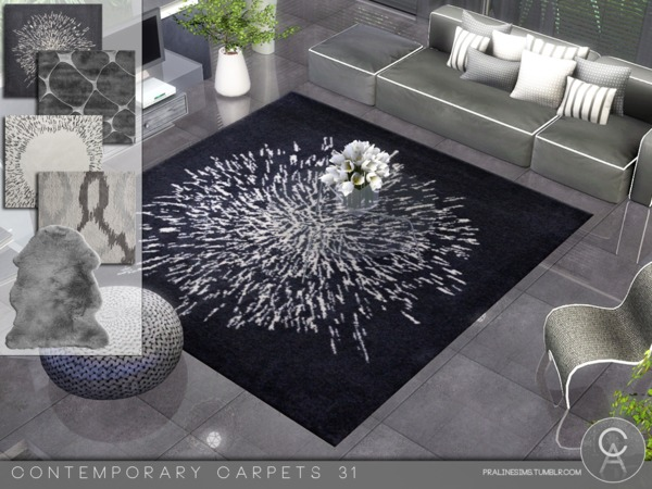 Contemporary Carpets 31 by Pralinesims