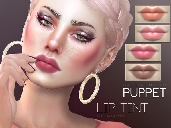 Puppet Lip Tint N99 by Pralinesims