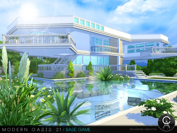 Modern Oasis 21 by Pralinesims