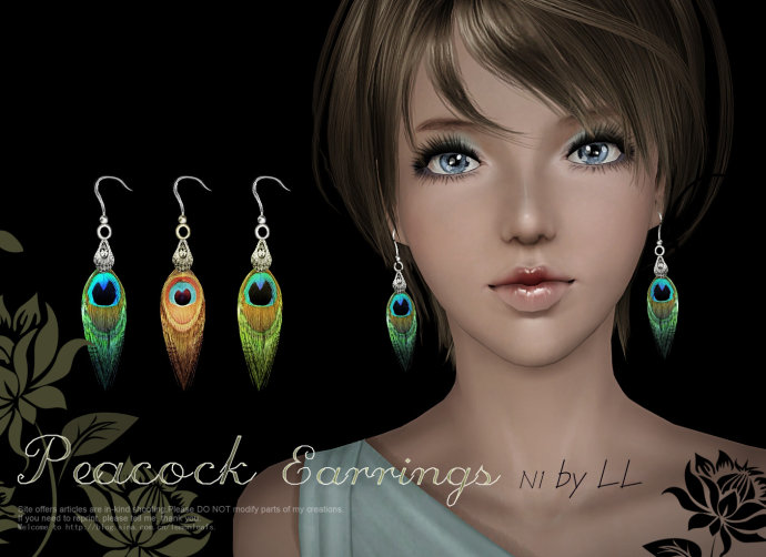 Earrings 1024 & 2048 by Lemonleaf
