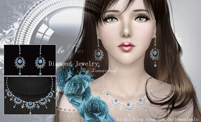 Diamond Jewelry by Lemonleaf