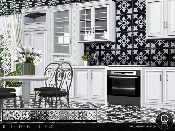 Kitchen Tiles by Pralinesims