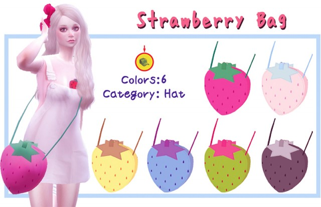 Strawberry Bag by A-luckyday