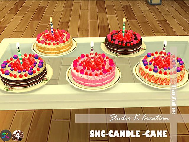 SKC-Candle cake by Karzalee