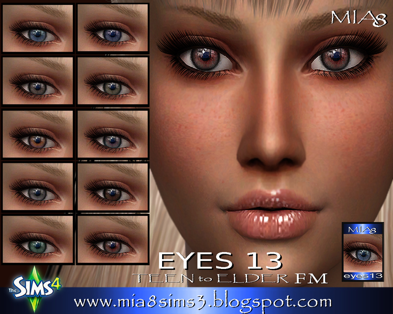 EYES 13 by Mia8