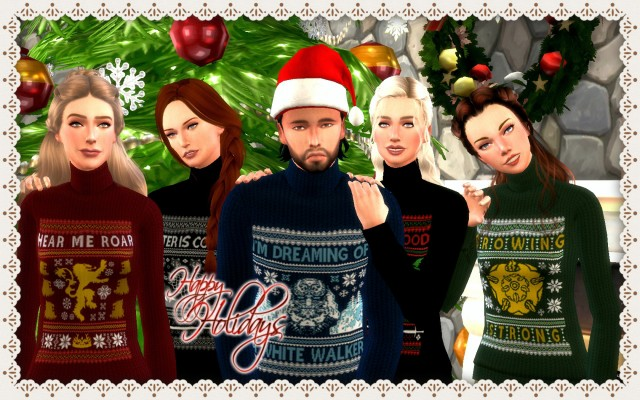 Game Of Thrones Christmas Sweaters by Magnolianfarewell