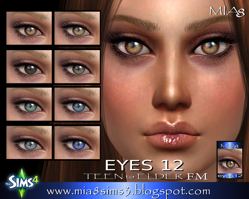 EYES 12 by Mia8