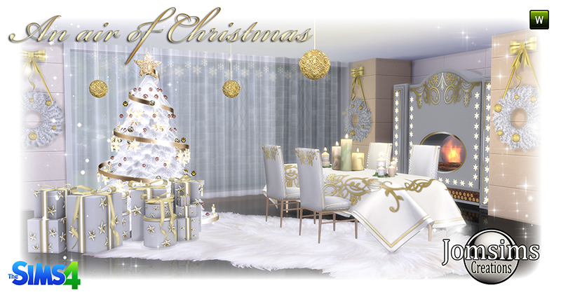 Christmas Dining Set by JomSims
