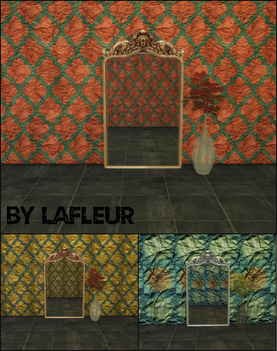 Pur pur Wall by LaFleur