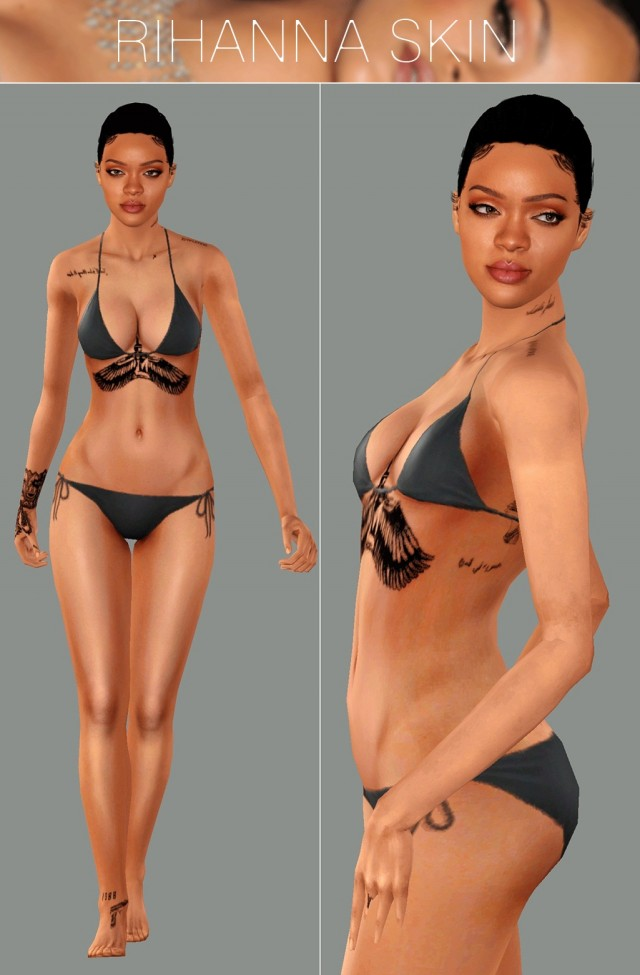 Rihanna 2017 Skin by GramSims