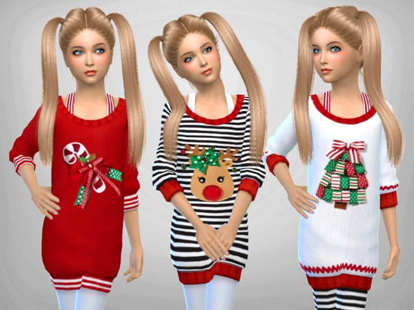 Girls Christmas Jumpers... by SweetDreamsZzzzz