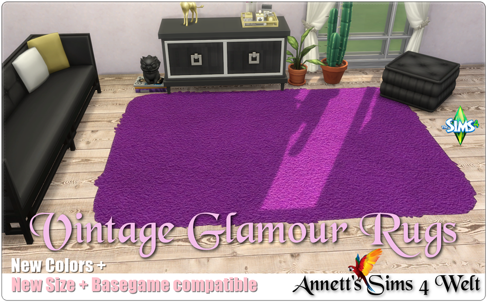 Vintage Glamour Rugs Resized and Recolored by Annett85