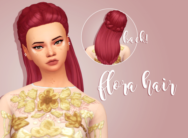 FLORA HAIR by Crazycupcakefr