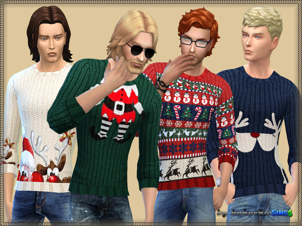 Sweater Merry Christmas by bukovka