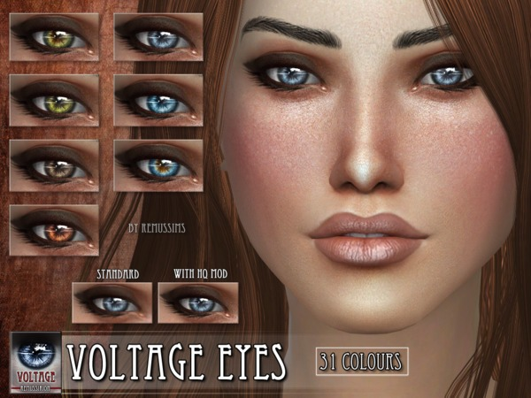 Voltage Eyes by RemusSirion