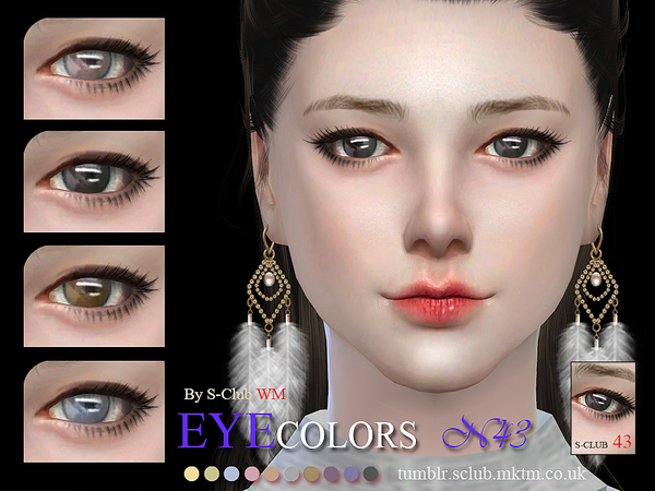 S-Club WM thesims4 Eyecolor 43