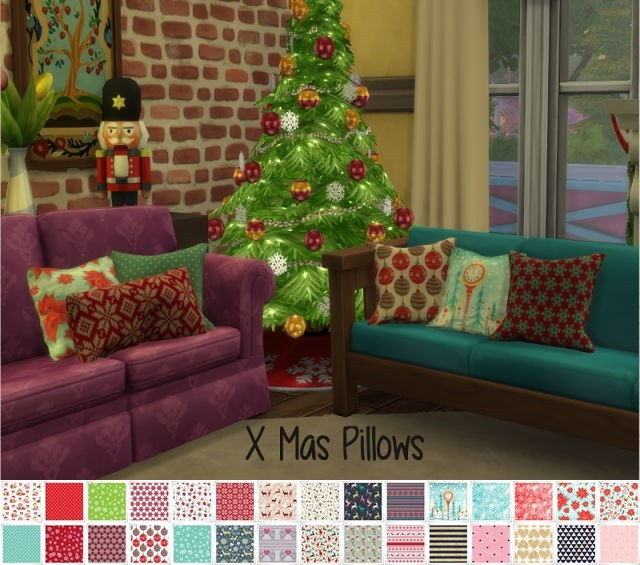 Christmas Pillows by Chilli