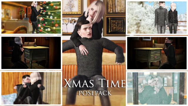 Xmas Time Pose Pack by Carmilla