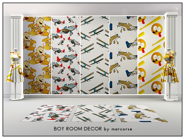 Boy Room Decor_marcorse