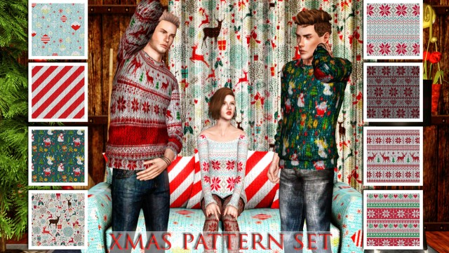 8 new Winter/Christmas patterns by Carmilla