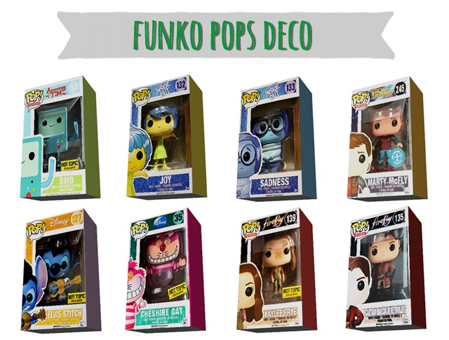 Funko pops deco by simplysickandtired