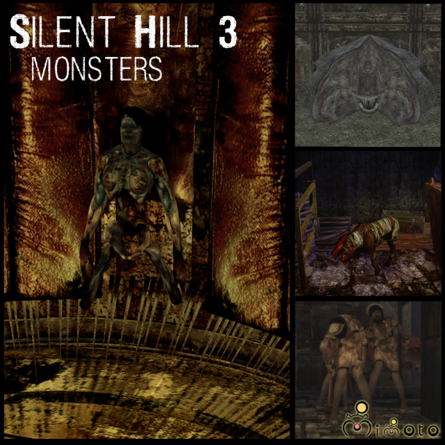 Silent Hill 3: Monsters by Mimoto
