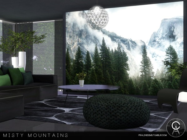 Misty Mountains by Pralinesims