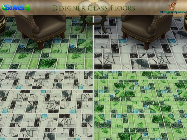 Designer Glass Floors by DragonQueen