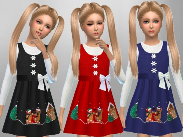 Girls Christmas Dress by SweetDreamsZzzzz